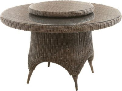 4 Seasons Outdoor Victoria dining table polyloom taupe
