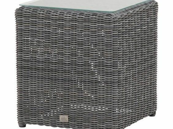 4 seasons outdoor square end charcoal