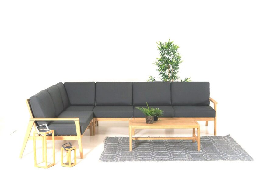 Everly woods corner sofa