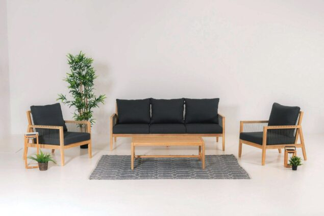 Everly woods sofa set