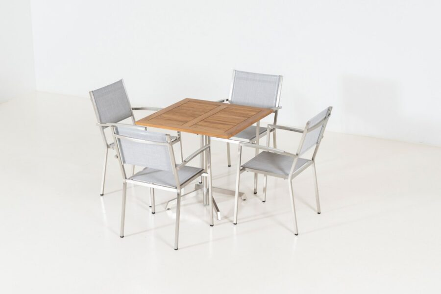 4 Seasons Outdoor Plaza dining set met Etna tafel