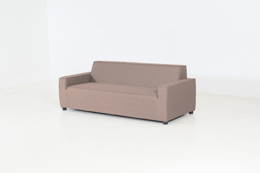 Flow Club 2,5-seater sofa taupe