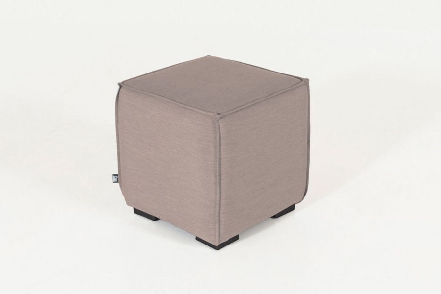 Flow pouf taupe