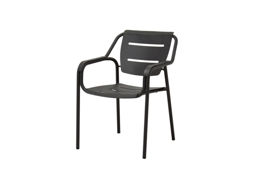 4 Seasons Outdoor Eco stacking diningchair anthracite