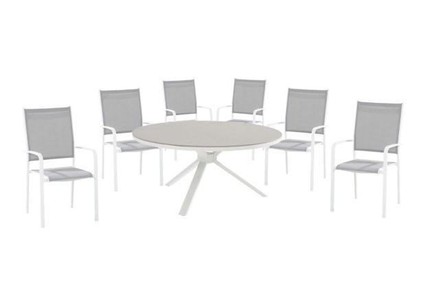 Taste by 4 Seasons Outdoor Tosca dining set wit
