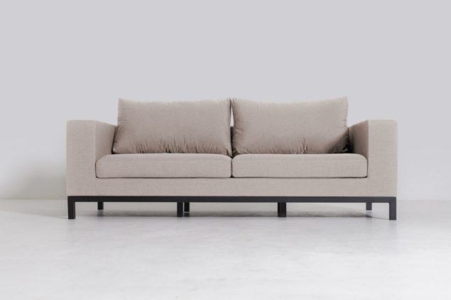 Flow Square 2,5-zits sofa taupe chiné