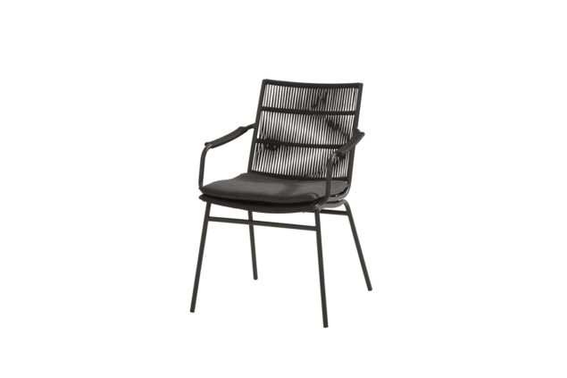 Taste by 4 Seasons Wave dining chair antraciet
